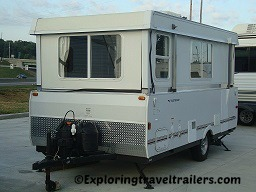 hard wall pop up camper trailers